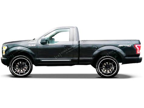 2015 Ford F 150 Regular Cab by 2015 2016 Ford F 150 Regular Cab Chromeline Painted