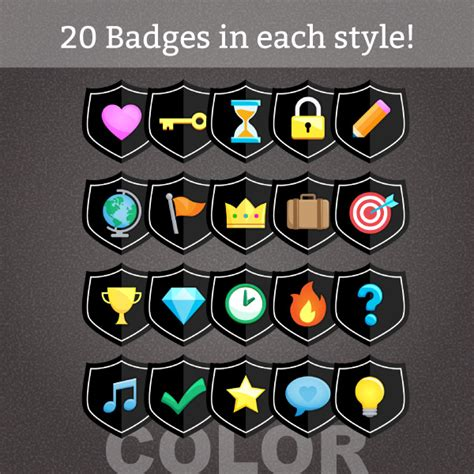 the color badge ultimate achievement badge pack 1 guppy