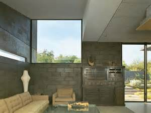 home design building blocks concrete block living room of desert house 3d architecture materiality