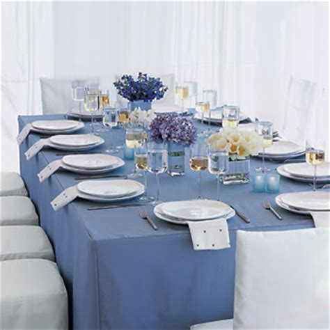 Blue And White Wedding Decorations by Wedding Inspiration Center Charming Blue And White