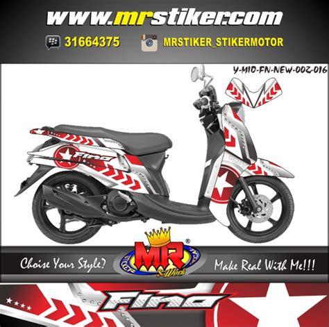 Keranjang Mio Fino mio fino new iron stiker motor striping motor suka