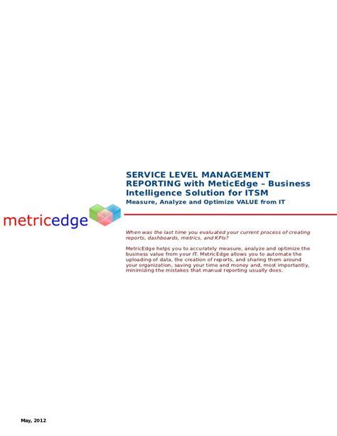 service desk sla metrics itil sla reporting sla kpis sla metrics slm kpis