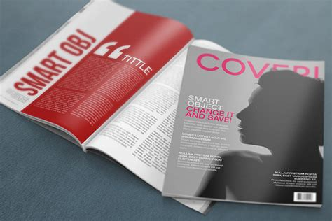 design magazine free download free download ultra realistic magazine mockup designbeep