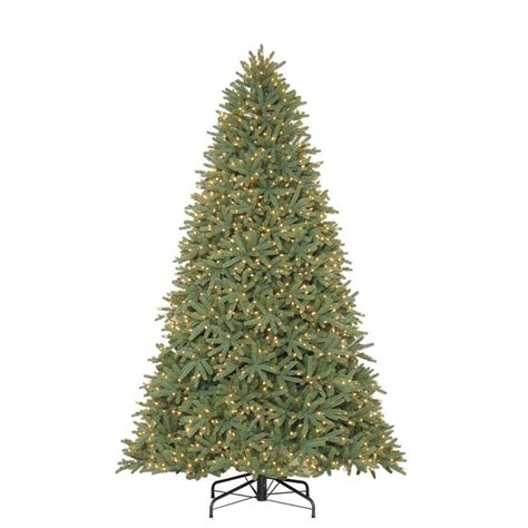 holiday living 9 ft pre lit mckenney fir artificial