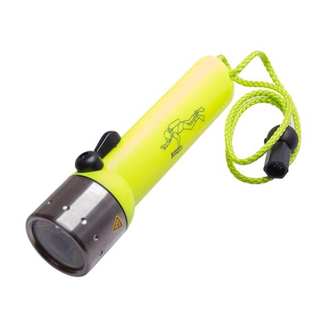 dive torch led lenser d14 2 led diving torch coast water sports