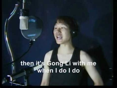 Asian Karaoke Meme - touch my body tuts my barreh karaoke fail english