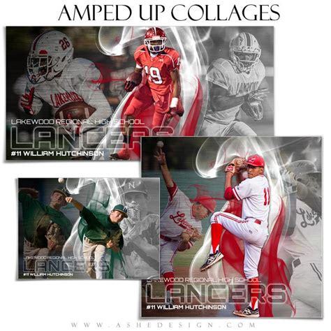 sports photo templates ashe design sports collage templates crown