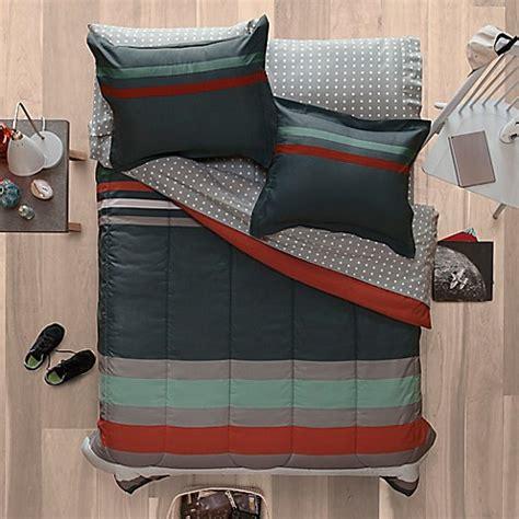 aeropostale bedding a 233 ropostale banded stripe reversible comforter set in