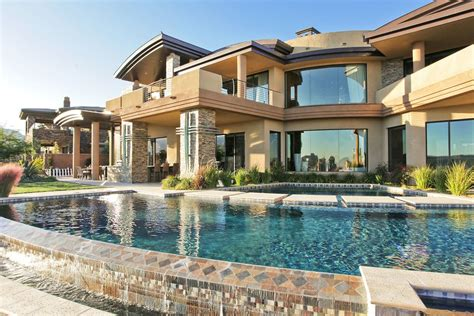 luxury house luxury house with pool glass windows luxury mansion home