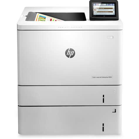color laserjet hp color laserjet enterprise m553x a4 colour laser printer