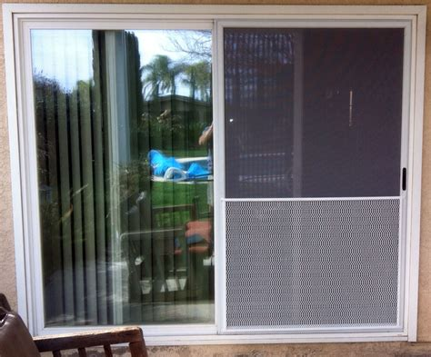 Sliding Glass Patio Doors With Screen Replacement Sliding Patio Screen Door Darcylea Design