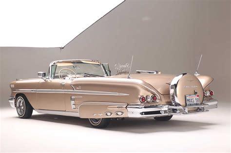 58 impala convertible a 556hp supercharged 1958 chevrolet impala