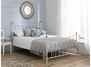 White Metal Frame Beds Bed Frame White Dreams