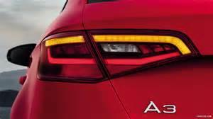 audi a3 sportback led tail lights 2013 audi a3 sportback s line led tail light hd