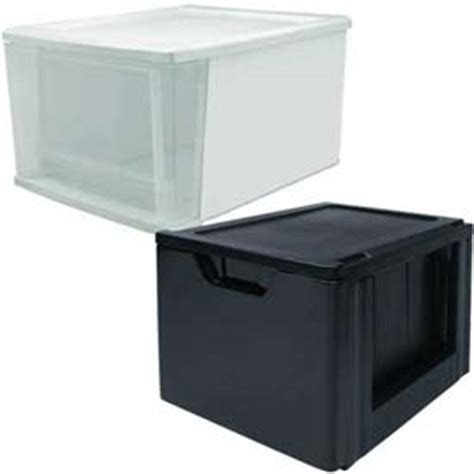Plastic Containers With Drawers by Bins Totes Containers Drawers Stacking Stackable