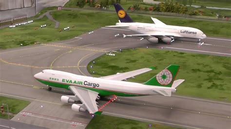 ho scale 1 87 boeing 747 400f air cargo at airport knuffingen hamburg 14 17 jan 2014