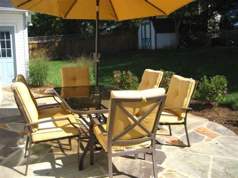 Cheap Patio Sets With Umbrella Patio Patio Dining Sets With Umbrella Deck Umbrella