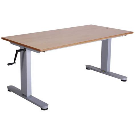 height adjustable desk uk height adjustable tables for and wheelchair use
