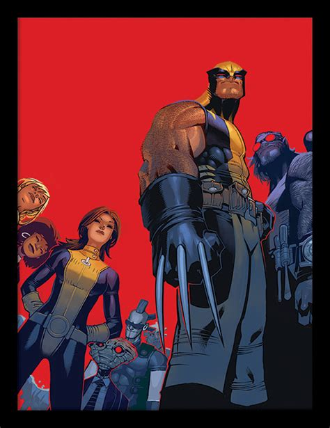 Xman Plakat by Wolverine And The Indrammet Plakat Billede