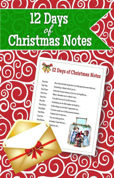 day notes 12 days of notes the headed hostess