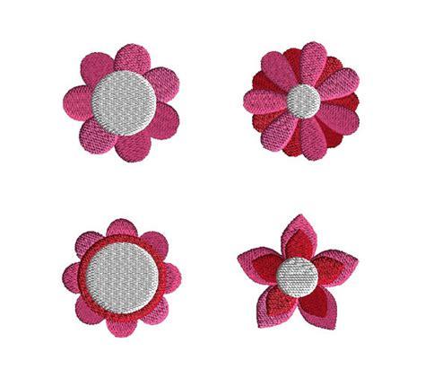 design embroidery mini mini flowers machine embroidery designs instant download