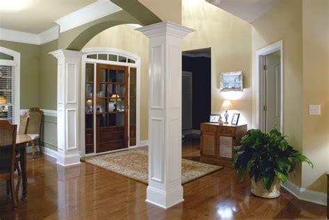 dining room columns dining room columns house plans