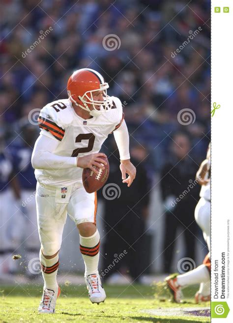 couch cleveland browns tim couch cleveland browns qb fotografia editoriale