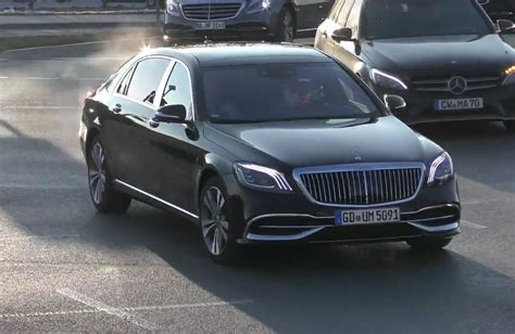 mercedes maybach s500 2019 mercedes maybach s class spotted in germany looks