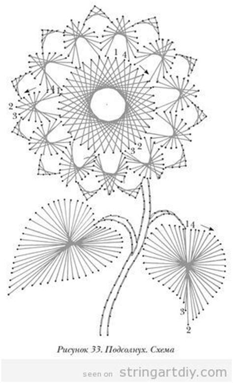 Flower String Patterns - flower string diy learn to make your own string