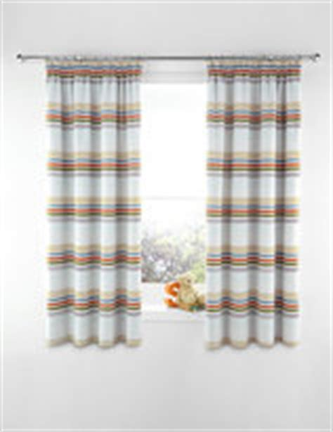 marks and spencer curtain fabric bold stripe curtains shopstyle uk