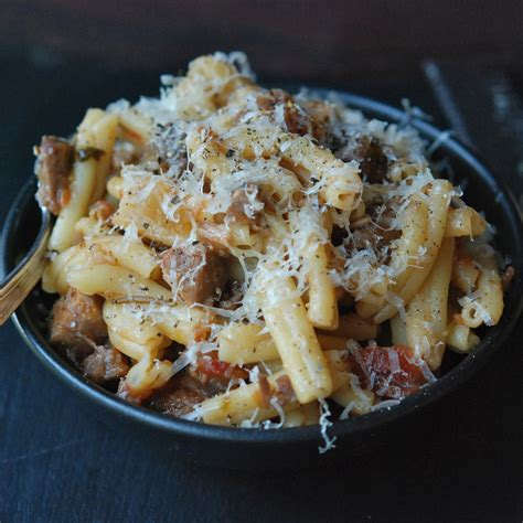 Pork And Pasta by Pasta With Braised Pork Wine And Pancetta Recipe