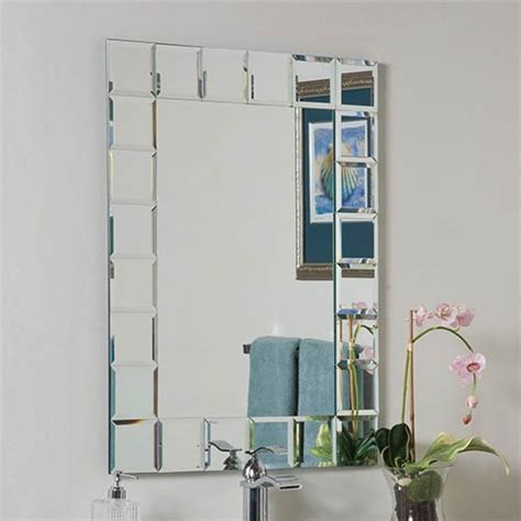 rectangular bathroom mirror bellacor