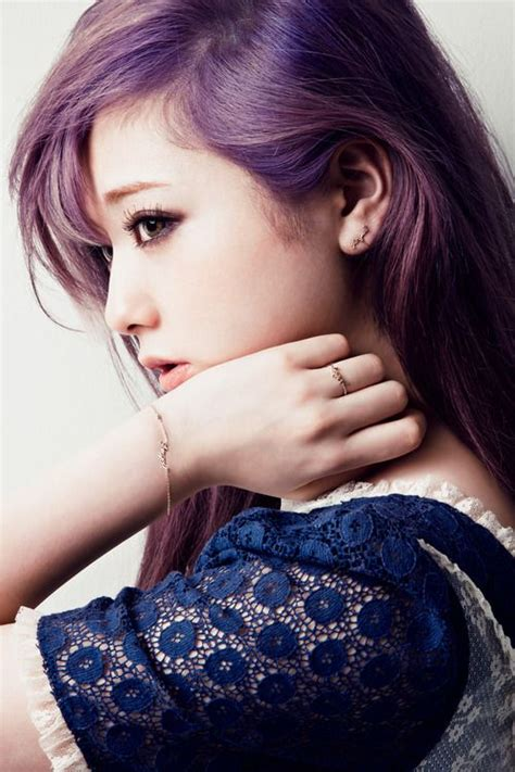 old japanese ladies purple hair 17 best images about beauty on pinterest her hair