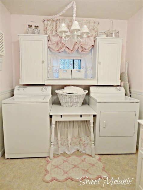 shabby sweet diy laundry room for the home pinterest