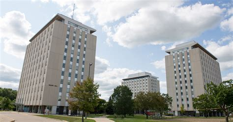 illinois state university housing tri towers haynie wilkins and wright halls university housing services
