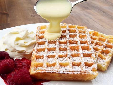 come cucinare i waffel waffle ricetta originale belga