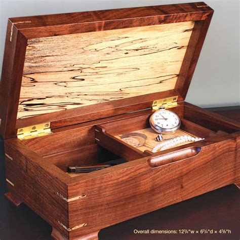gem   jewelry box woodworking plan  woodcraft