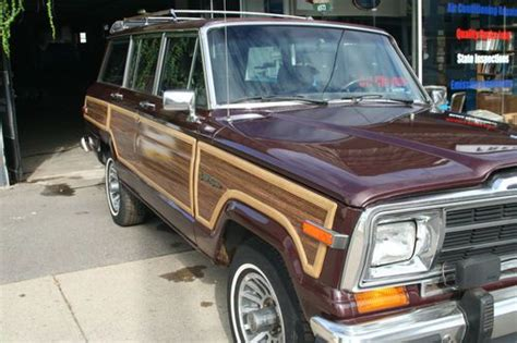 Jeep Grand Paint Buy Used 1988 Jeep Grand Wagoneer Limited Original Paint
