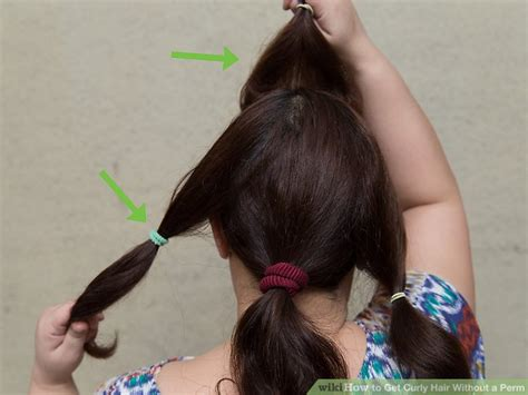 4 ways to get curly hair without a perm wikihow 4 ways to get curly hair without a perm wikihow
