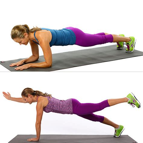 plank excercises plank variation exercises popsugar fitness