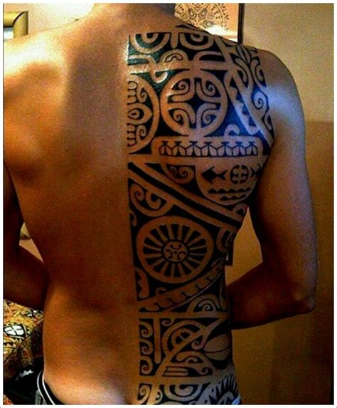 tattoo at back design 45 unique maori tribal tattoo designs