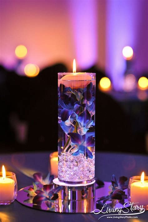 floating candle centerpieces wedding reception best 25 wedding reception centerpieces ideas on