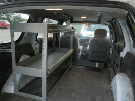 Buy Used 2006 Chevy Uplander Cargo Van With Shelves In Leo Used Cargo Shelving For Sale