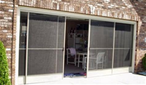 Screen Doors For Garage Door Opening by Garage Screen Doors Sliding Garage Screen Doors Garage