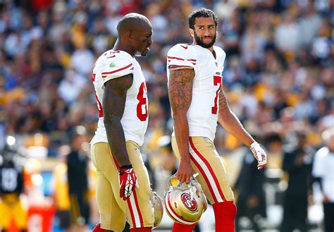 vernon davis traded colin kaepernick benched 49ers in