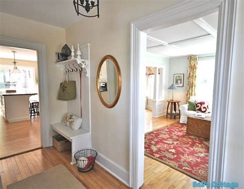 Cottage Entryway Sopo Cottage Foyer Hooked On Houses