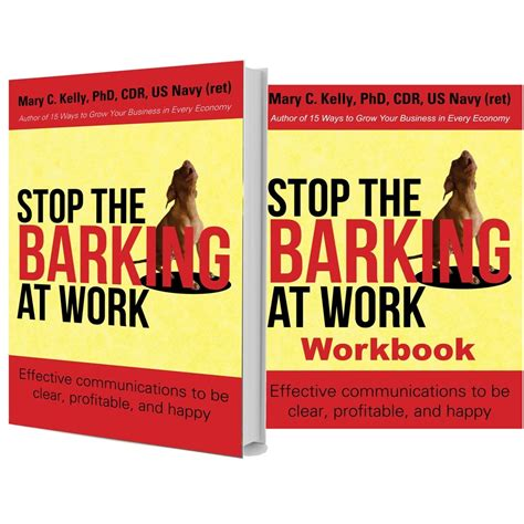 stop barking at stop the barking at work communication