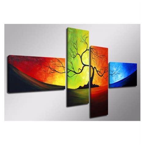 cuadros murales cuadros tripticos mural 150 x 70 cm pintados a mano an