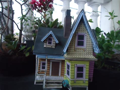 Up House Papercraft - up house papercraft by miekochan59 on deviantart