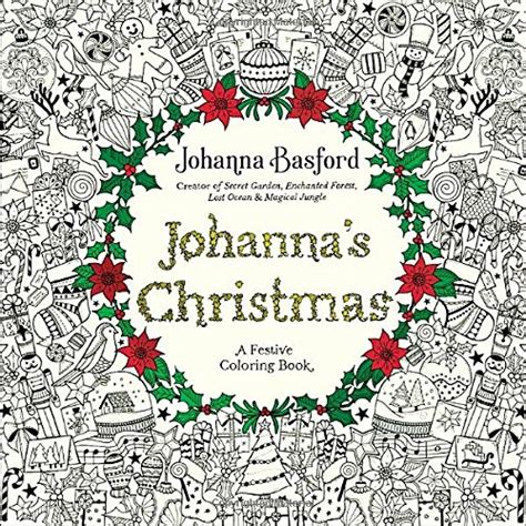 Adult Christmas Coloring Books ? Paint By Number For Adults